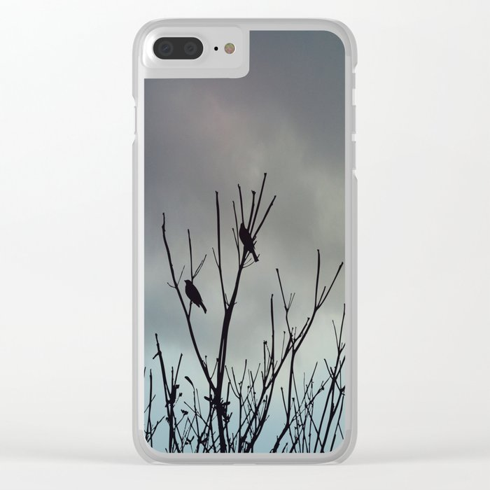 Under Grey Skies Clear iPhone Case