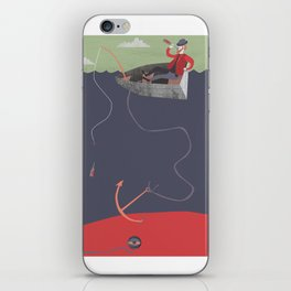 catch of the day iPhone Skin