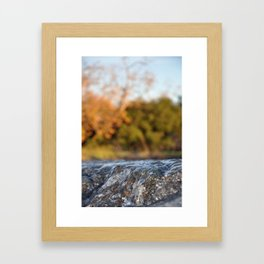 Tidal wWve Framed Art Print