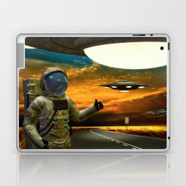 Hitchinghiking Across The Universe Laptop & iPad Skin
