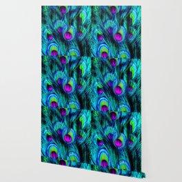 Peacock or Flower 1 Wallpaper