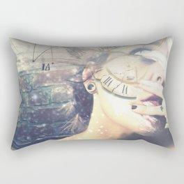Face Off Rectangular Pillow