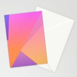 Diamond Fractals Stationery Cards
