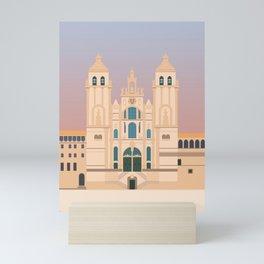 Santiago de Compostela Cathedral, Camino de Santiago, Galicia, Spain Mini Art Print