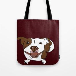 Celia Mae The Pit Bull Tote Bag
