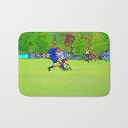 The Big Steal - Soccer Players Bath Mat