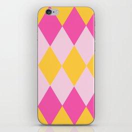 pretty diamond pattern iPhone Skin