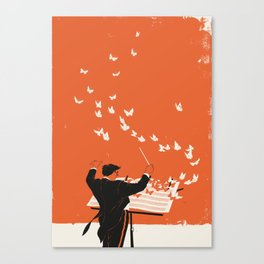 Managing Change Canvas Print