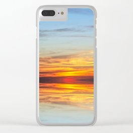 Sunset Special Clear iPhone Case
