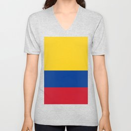 Colombian Flag - Flag of Colombia Unisex V-Neck