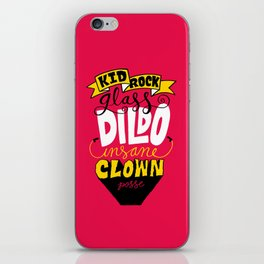 Kid R0ck's ICP Dildo iPhone Skin