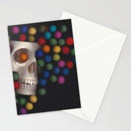 Skull and felt 2 Stationery Cards