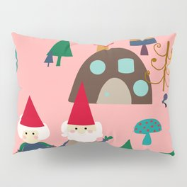 gnome pink Pillow Sham