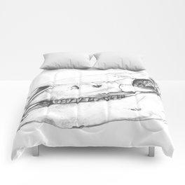 Horse Skull Comforters