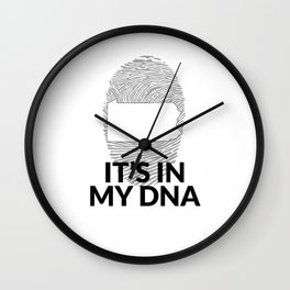 Pennsylvania DNA Shirt for People from Pennsylvania Wall Clock