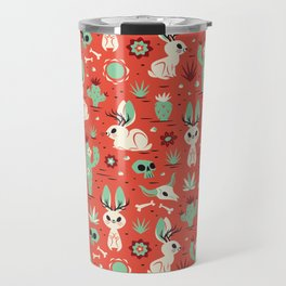 Cryptid Cuties: The Jackalope Travel Mug