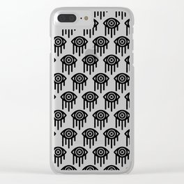 WEEPING Clear iPhone Case