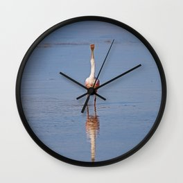 Capitulate to the Morning Wall Clock