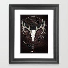Ravenstag Framed Art Print