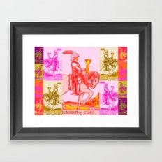 Knights Be Knighting Framed Art Print