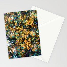 Peacock Rainbow Glitter Stationery Cards