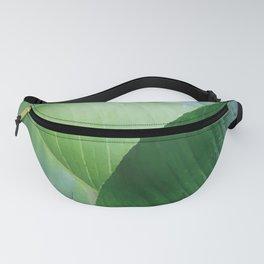 Big Banana Leaves green Fanny Pack