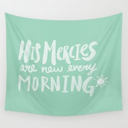 Mercy Morning x Mint Wall Tapestry