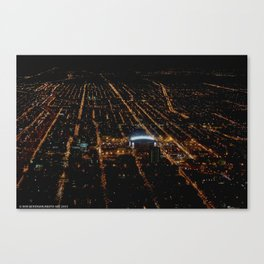 United Center: A Standout Arena (Chicago Architecture Collection) Canvas Print