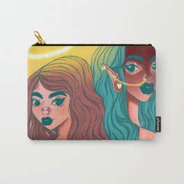 """Angel & Devil"" Carry-All Pouch"