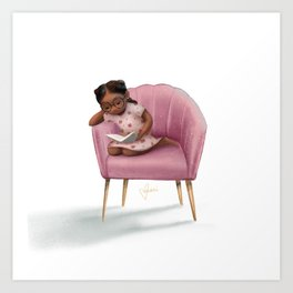 Dream Chair Art Print