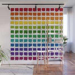 Iced Rainbow Chex Wall Mural