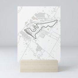 Circuit of the Americas Austin Texas Mini Art Print