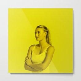 Maria Sharapova - Celebrity (Photographic Art) Metal Print