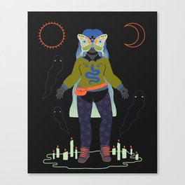 Witch Series: Seance Canvas Print