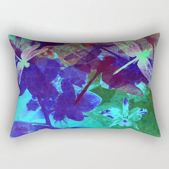 Dragonflies W Rectangular Pillow