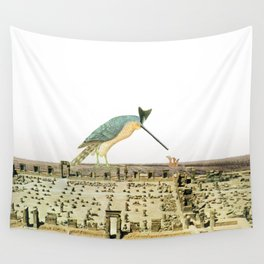 the bird experience Wall Tapestry