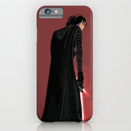 Dark Space Prince iPhone Case