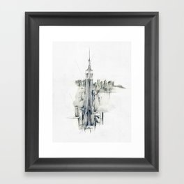 Metro Framed Art Print