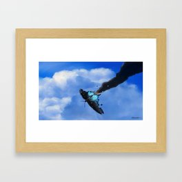 Butterfly Bandit Framed Art Print