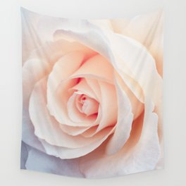 Flowers Photography   Rose   Spring   Easter   Blush Pink Wall Tapestry