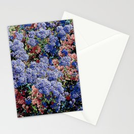 CEANOTHUS JULIA PHELPS ABSTRACT Stationery Cards