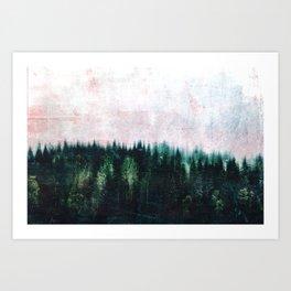 Deep dark forests Art Print