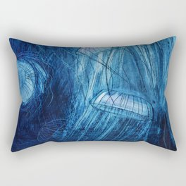Jellyfish in the sea Rectangular Pillow