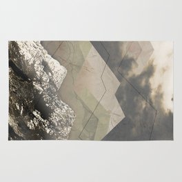 Geometric Sunrise Rug