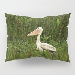 American White Pelican Pillow Sham