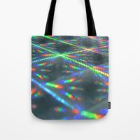 hologram Tote Bags featuring Laser Paper by Griffin Lauerman