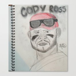 Cody Ross Canvas Print