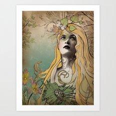 Anastasia Art Print