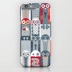Tin Pot Owl-Bot Parliament  iPhone 6 Slim Case