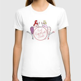 Red lipstick club T-shirt